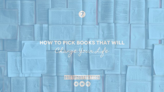 how to pick books that will change your lifex1000