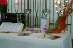 Helen Reimer's front display table
