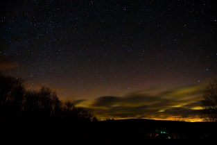 Stars over the valley