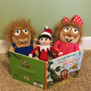 Silverbells reading with Little Critters