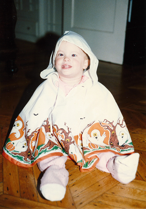 Me as a baby.