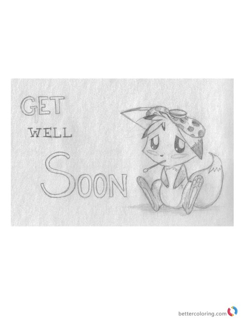 Medium Of Get Well Soon Cute
