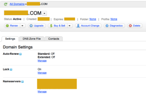 point name servers from Godaddy to Bluehost