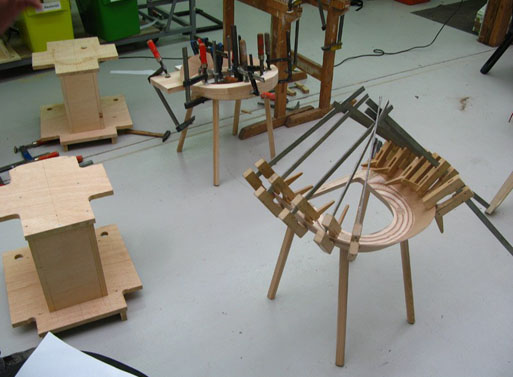 Houdini Chair, the making of
