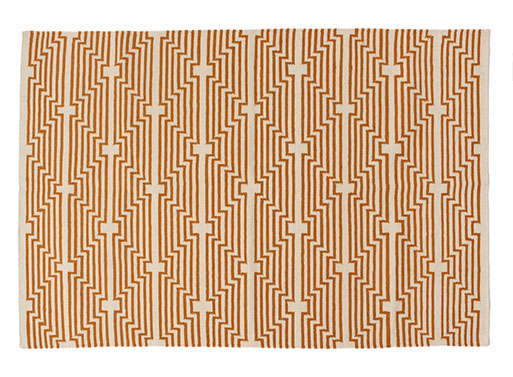 Optik Rug – Ochre
