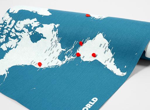 PinWorld Map