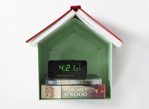Birdhouse Bookshelf