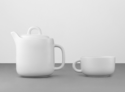 Bliss Teapot and cup
