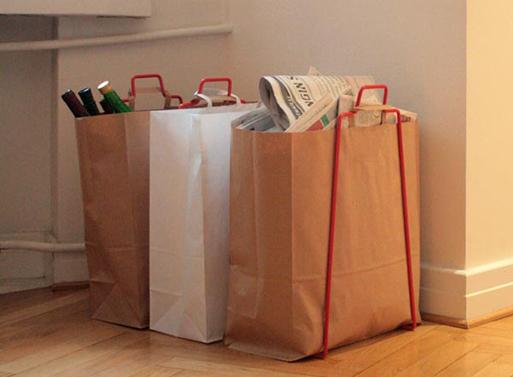 Helsinki Paper Bag Holder Accessories Better Living