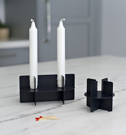 Fin Candleholders