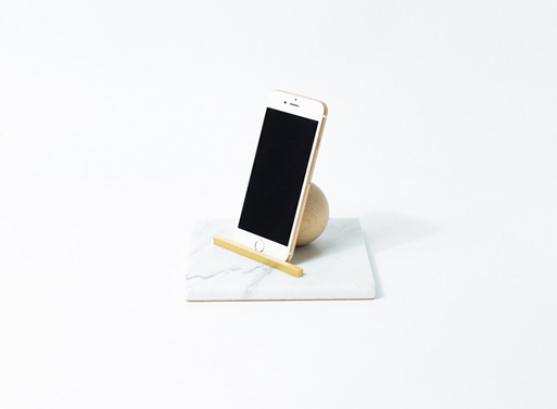 Ladies & Gentlemen Studio Marble iPad Stand