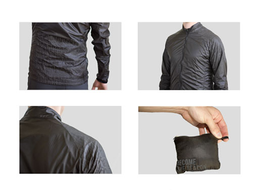 Lunis Reflective Crescent Windshell