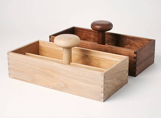 Portable Toolbox Walnut