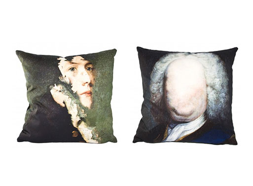 Chad Wys Portrait Cushions