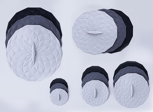 Round Silicone Lids