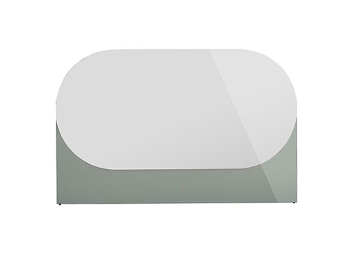 Shapes Mirror Oblong