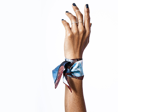 Ellesmere Island Silk Bracelet