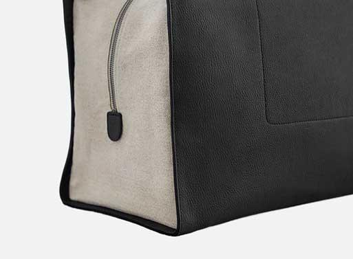 Super Bag Weekender black detail