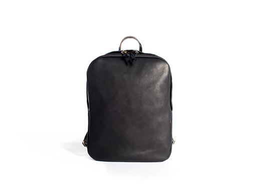 Leather Zip Backpack by JoshuVela
