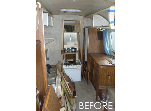 HofArc Airstream Renovation before