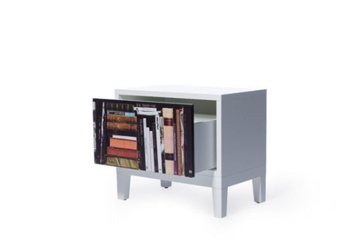 Bookshelf sidetable