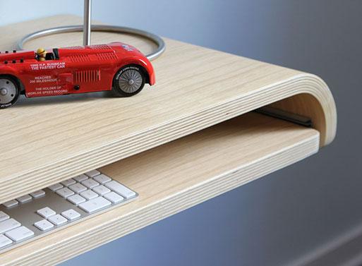 Minimal Float Wall Desk tray