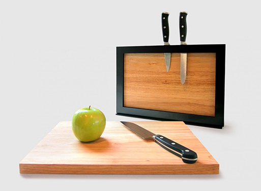 Chops Cutting Boards and Knife Rack
