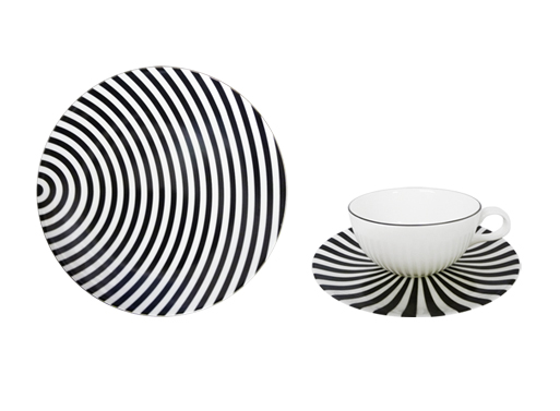 Coupe Monochrome Bone China Collection