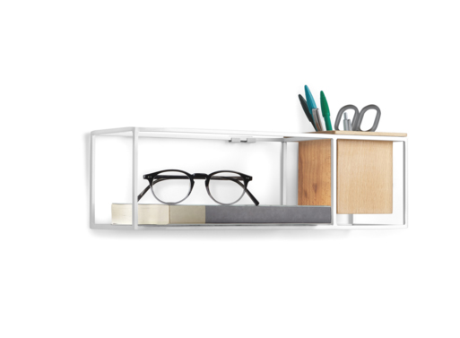 Cubist Shelf Small by Erika Kovesdi