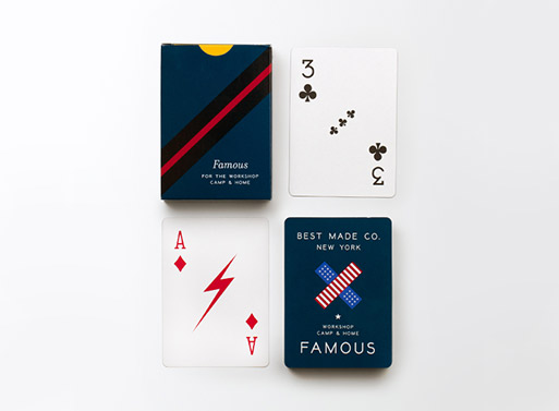 Famous Playing Cards by Best Made Co