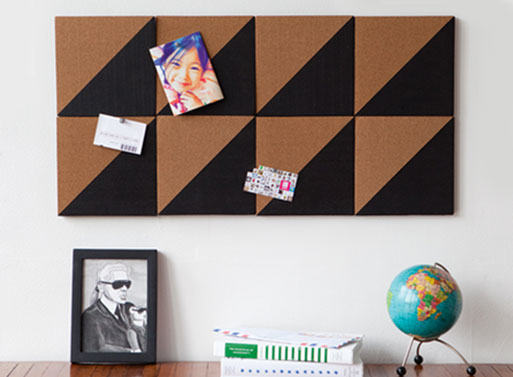 Graph Cork Board