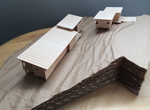 hagar lake house model slope