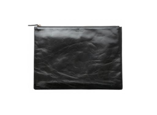 Leather Portfolio Black