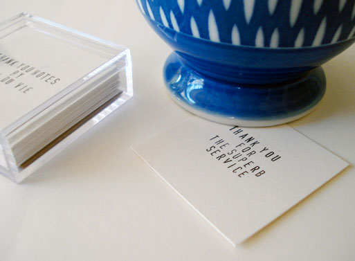 Little Thank You Notes