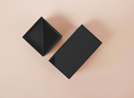 Desk set, Matte Black