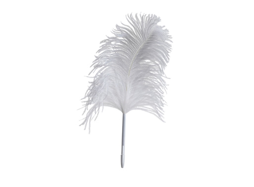 Maison Martin Margiela's Ostrich Feather Pen