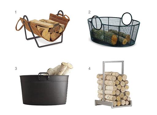 House Firewood Log Holder Accessories Better Living