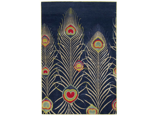 Peacock Rug Dark Matthew Williamson