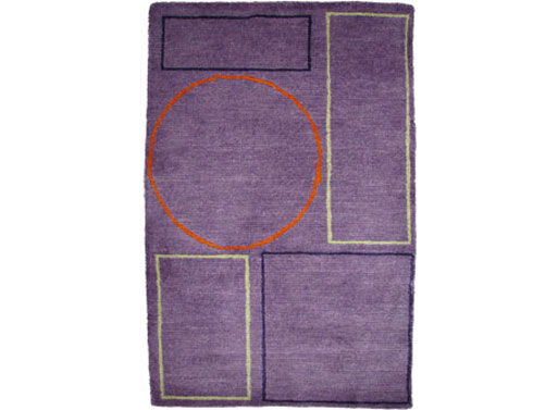 pieces Amethyst rug
