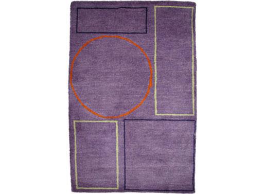 pieces Amethyst rug