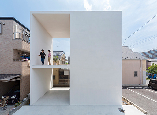 Little House with a Big Terrace Takuro Yamamoto
