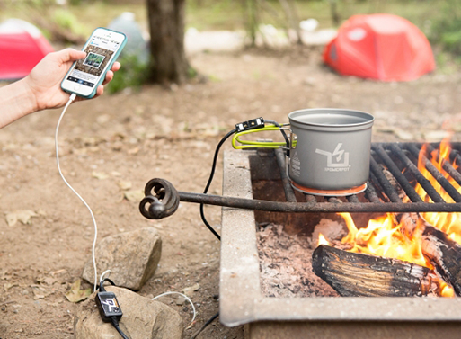 The Power Pot, A Fire Powered USB Charger