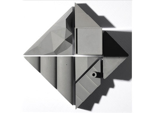 Tangram City Sculpture Puzzle
