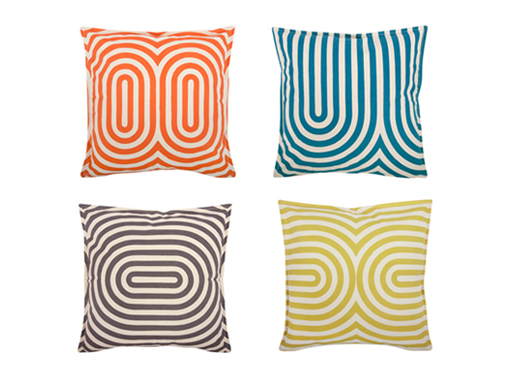 Geo/Metric Pillows