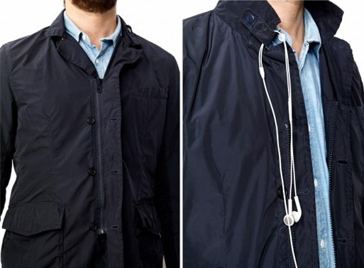 Travelteq Travel Jacket zipper buttons