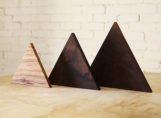 Triangle Cutting Board by Luke Bartels