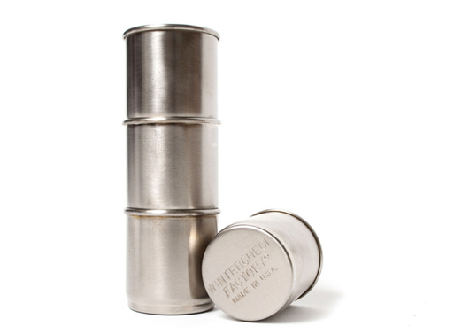 Nesting Steel Shot Cups
