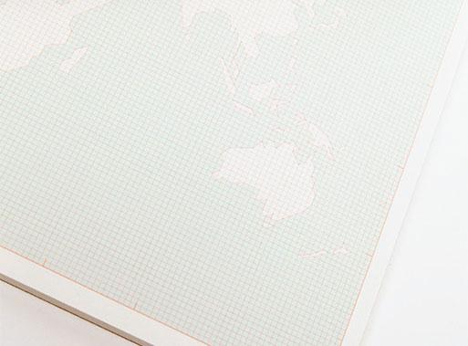 World Desk Notepad