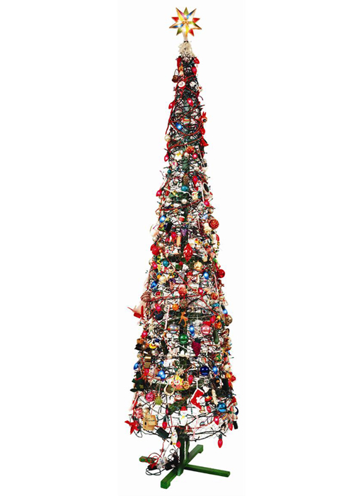 Fred Tomaselli Tree