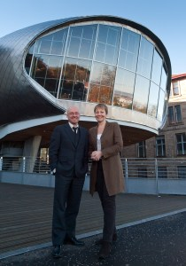 Caroline Lucas and Patrick Harvie at Conference 2010